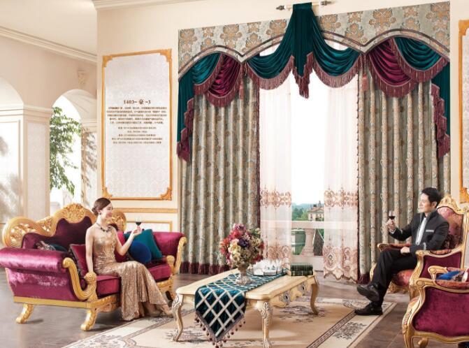 欧式风格窗帘搭配技巧