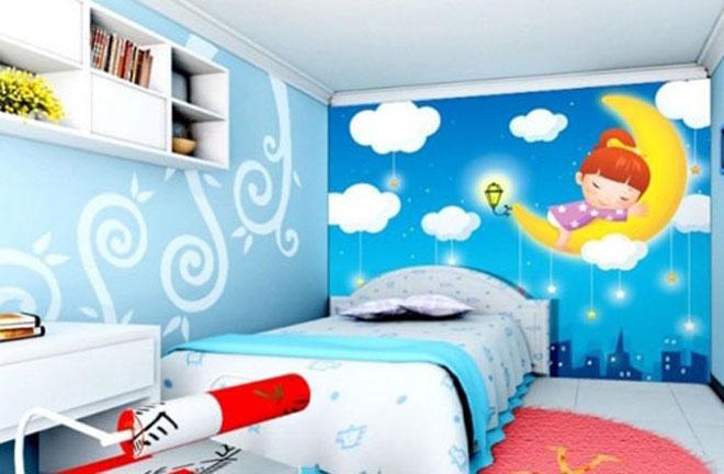 儿童房手绘墙5大装修注意事项 让孩子的世界更加童真与安全