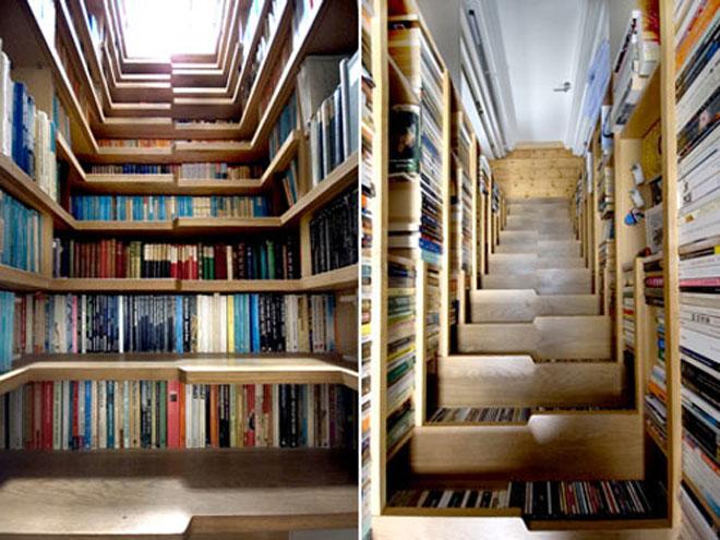 复式楼的楼梯设计 楼梯里的5款小天地图片