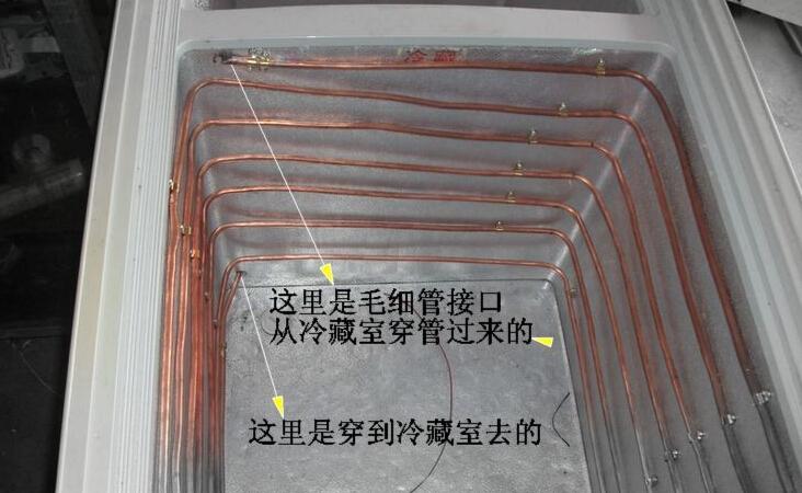 制作冰柜内盘管的步骤 冰柜盘管安装细节