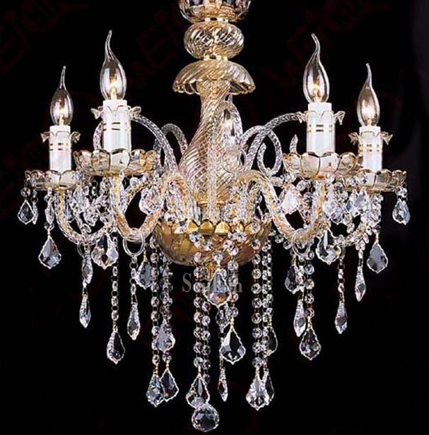 吊灯 水晶吊灯安装介绍 水晶灯清洗的5个技巧       灯饰选择,欧式灯