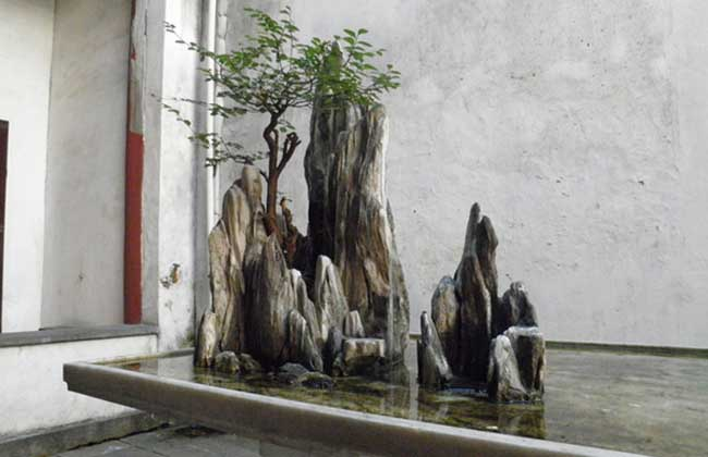 【图】小型假山盆景制作方法