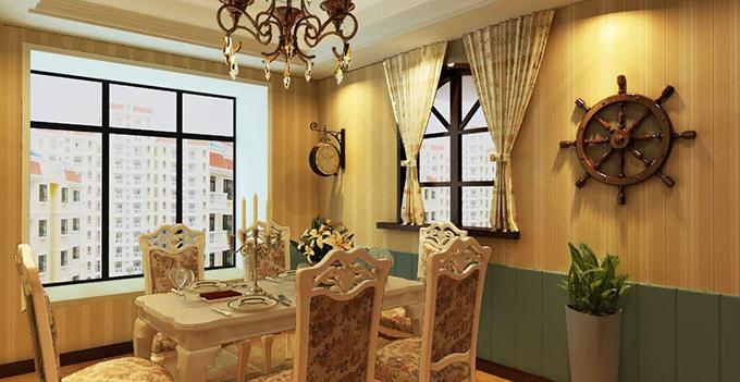 欧式风格餐厅装修 来自欧洲的浪漫与惬意
