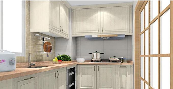 小厨房装修设计一,嵌入式厨电是首选