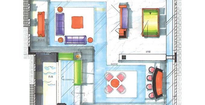 150平方房子设计平面图