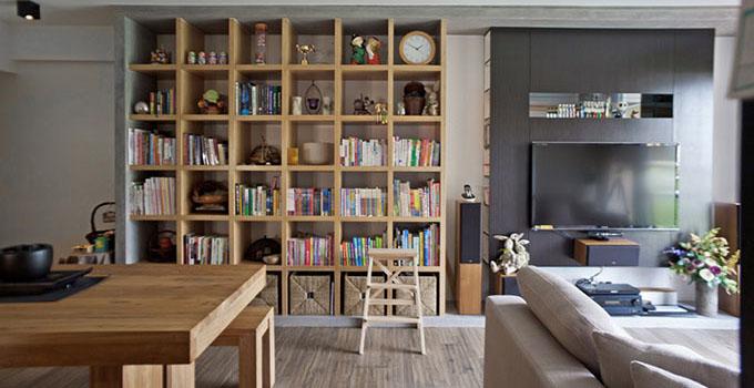 打造气质好书房 书架设计摆放就要懂得怎么做!图片