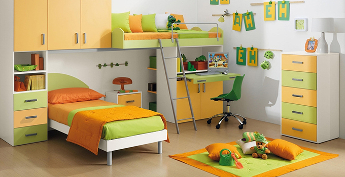 儿童房装修创意收纳 保持房间的整洁干净