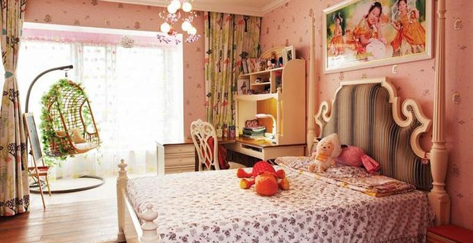 女孩房设计技巧 打造温馨可爱卧室_装修保障网