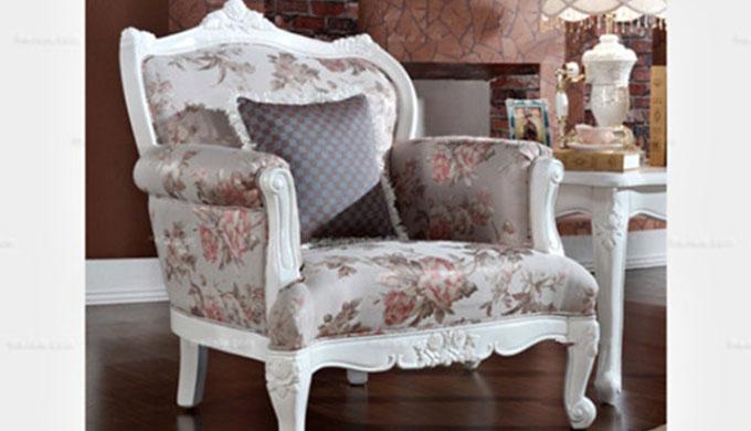 欧式田园风格的凯撒豪庭沙发椅子
