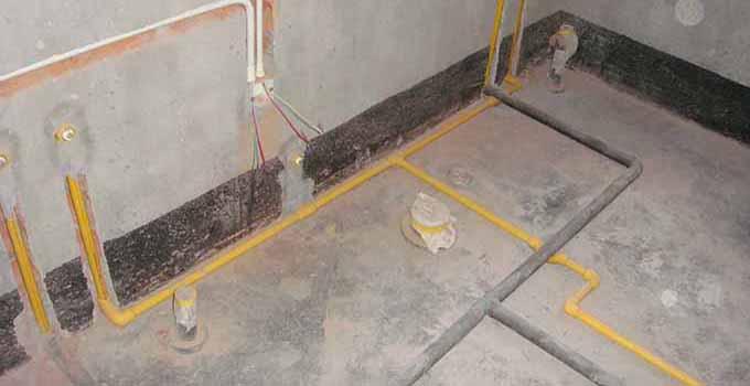 卫生间水管安装标准及注意事项