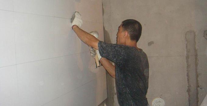 二,泥瓦工施工要点之墙面找平