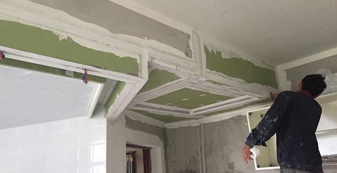 内墙乳胶漆施工工艺及注意事项介绍