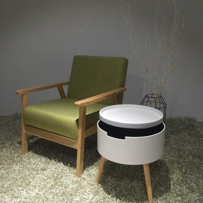 实木宜家日式简易简约现代小桌子茶几沙发边几圆几床头榻榻米桌子