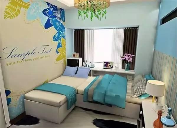 10平米卧室装修效果图 小卧室也可以超级美哒图片