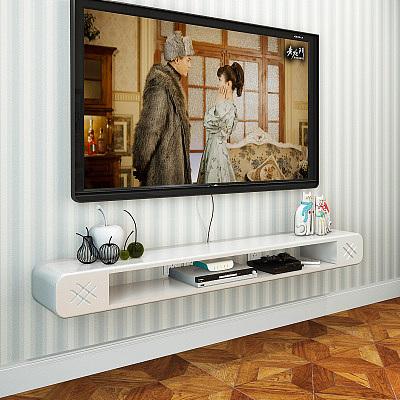简约现代欧式悬挂壁挂电视柜客厅小户型简易挂墙柜树林宜家置物架