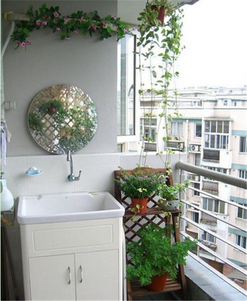 方案v方案成洗衣房的装修设计阳台及效果图案例广告设计快速入门、图片