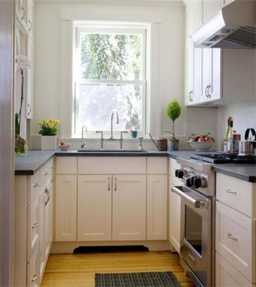 厨房装修颜色搭配设计效果图案例