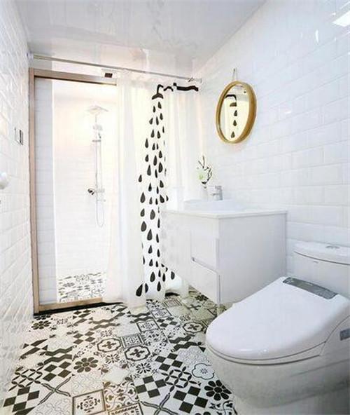 95平米三室一厅小户型装修设计效果图案例