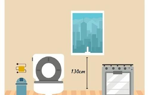 洗手间装修尺寸多大合适?九张漫画图告诉你