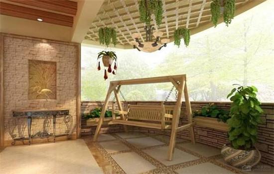 入户花园天花吊顶设计技巧 不要随意浪费面积