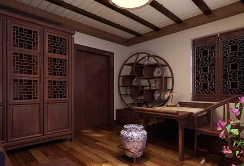 9款中式书房装修效果图 风雅墨香中国风
