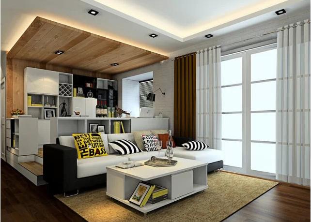 一居室小户型隔断装修设计案例大全