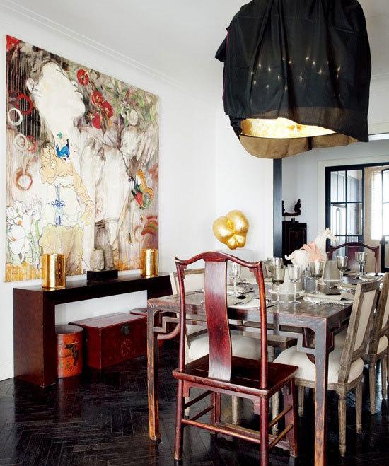 中山高档特色餐厅装修设计效果图案例