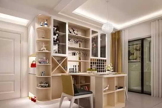 小三室全屋交换空间设计 凸显定制家具的魅力