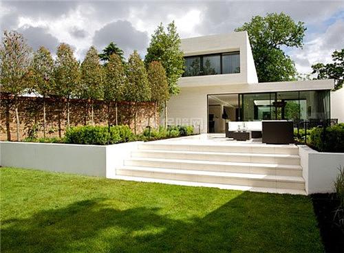 庭院式住宅设计图