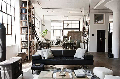 """""""工业风格""""的卧室设计 独特却不张扬的设计"""