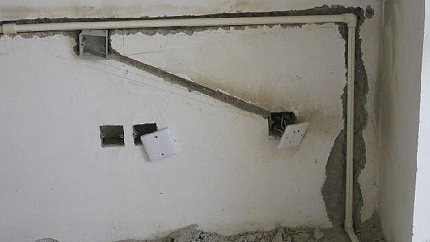 水电改造4种错误示范 中了3项要返工重装!