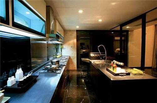 新中式厨房装修效果图 让您领略别样中式风