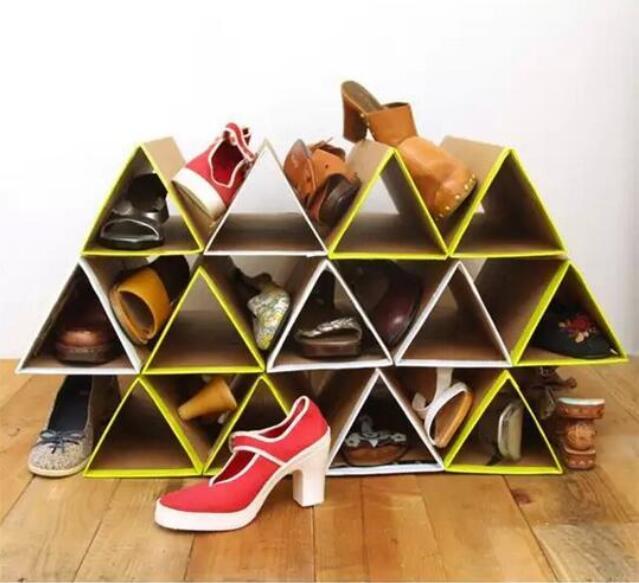 纸盒手工制作大全简单鞋架