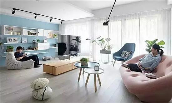 125平现代简约风 一个客厅三个功能