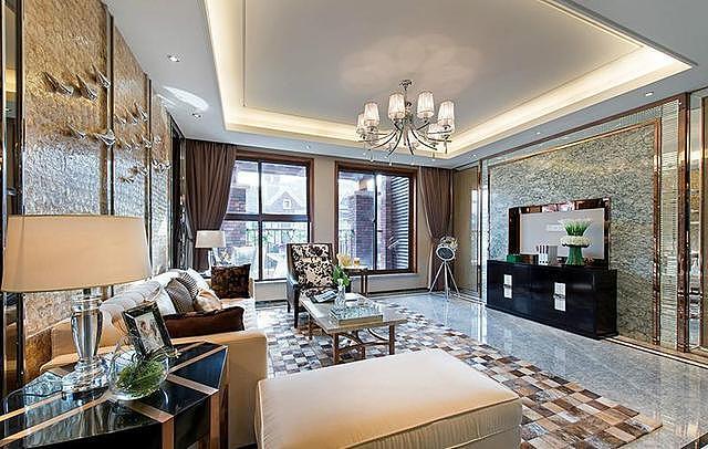 108平米三居室后现代风格 不一样的装修风格