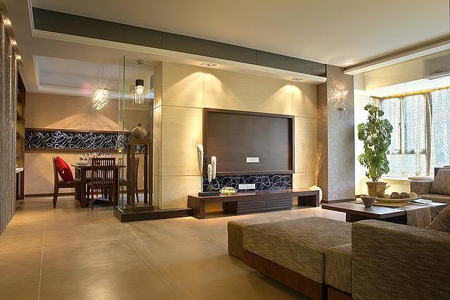 现代简约风格的装修案例 时尚简洁的空间气息