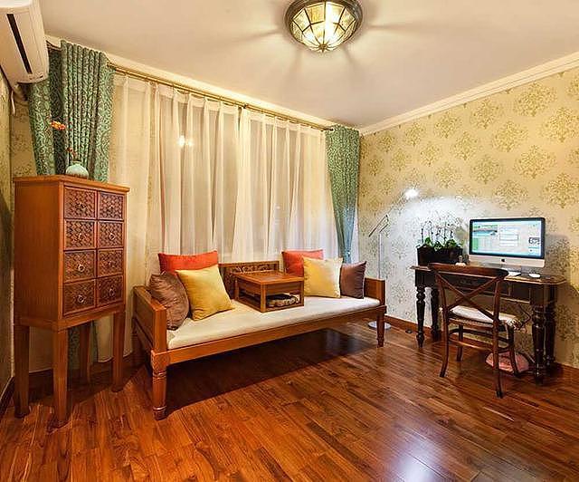 东南亚风格三居室装修案例