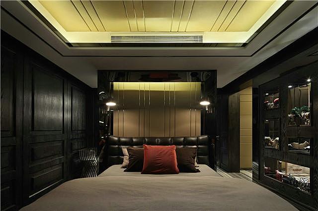 四室两厅163平米后现代风格装修案例效果