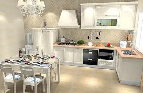现代厨房装修效果图 追求流行的厨房设计