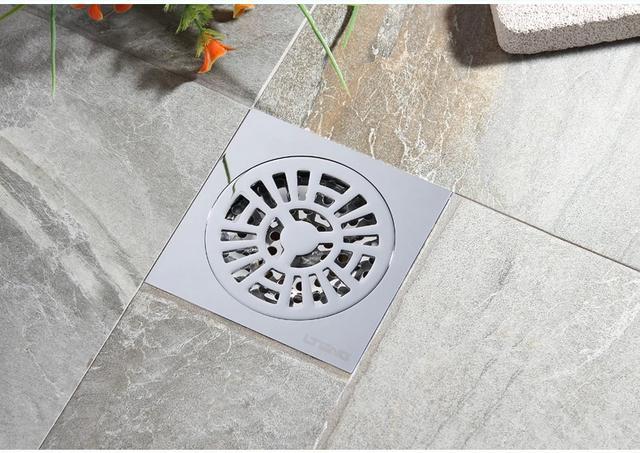 卫生间地漏美化装修设计方法及效果图案例