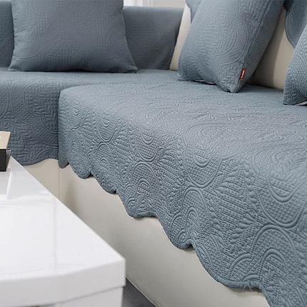 歐式沙發墊美式沙發坐墊四季墊子防滑布藝組合皮沙發套巾貴妃定制