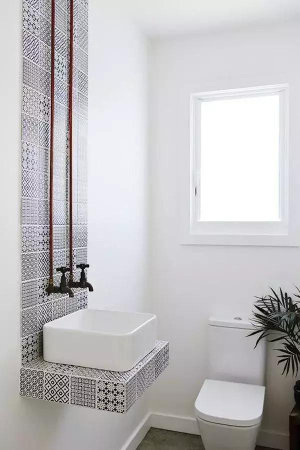 时尚前卫个性的卫生间装修设计效果图案例