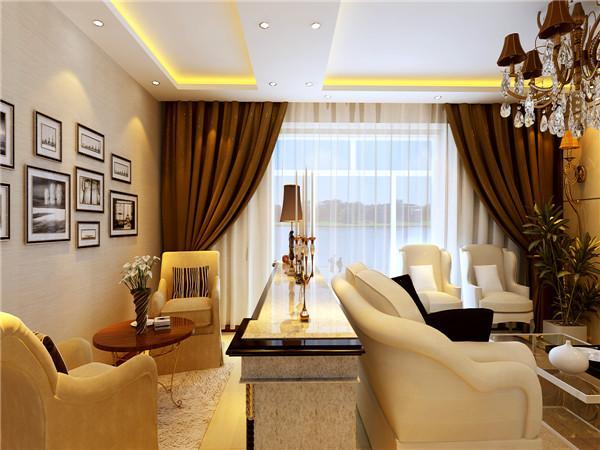 装修保障网 装修学堂 欧式风格 简欧风格时尚设计 客厅颜色的搭配是个