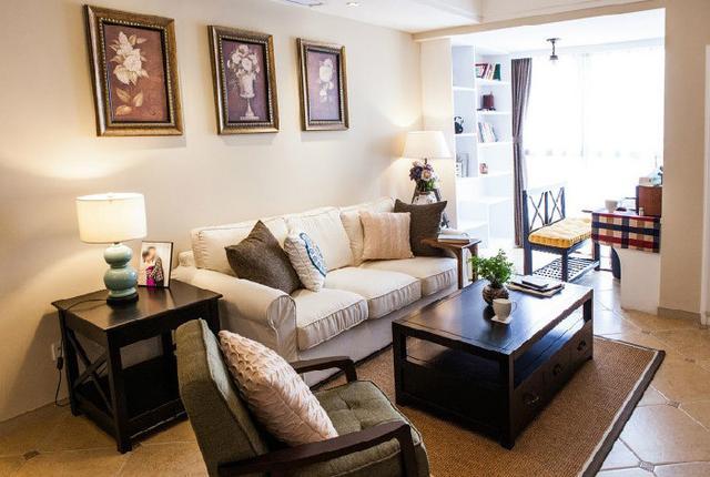 27款美式风格客厅效果图 对细节的精致追求