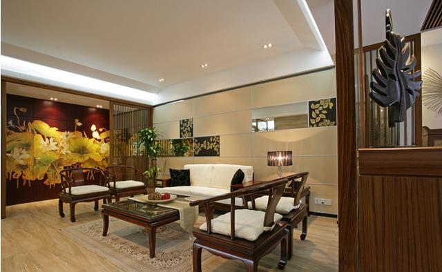浓郁中国风三室两厅 古典清雅的中式家居