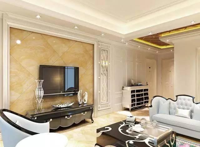 简约电视墙装修效果图 电视墙装修效果图大全 欧式电视墙装修效果