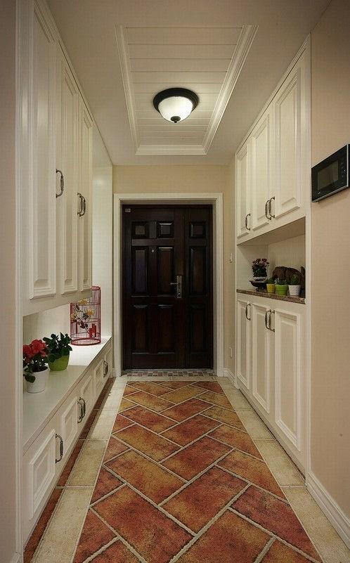 三室一厅现代美式风格家居 实用性和生活性完美糅合美家