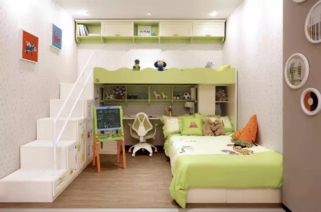 小户型儿童房设计 小空间大利用!