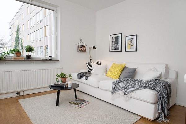 42平北欧风格一室一厅设计 奢华有格调的装修