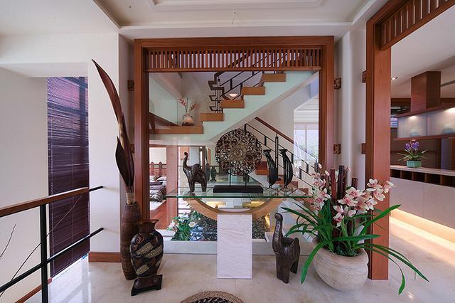 东南亚+新中式混搭别墅装修 浪漫温馨的幸福美家